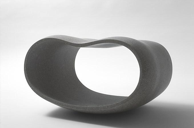 Empty Form VIII  L 42 cm - private collection