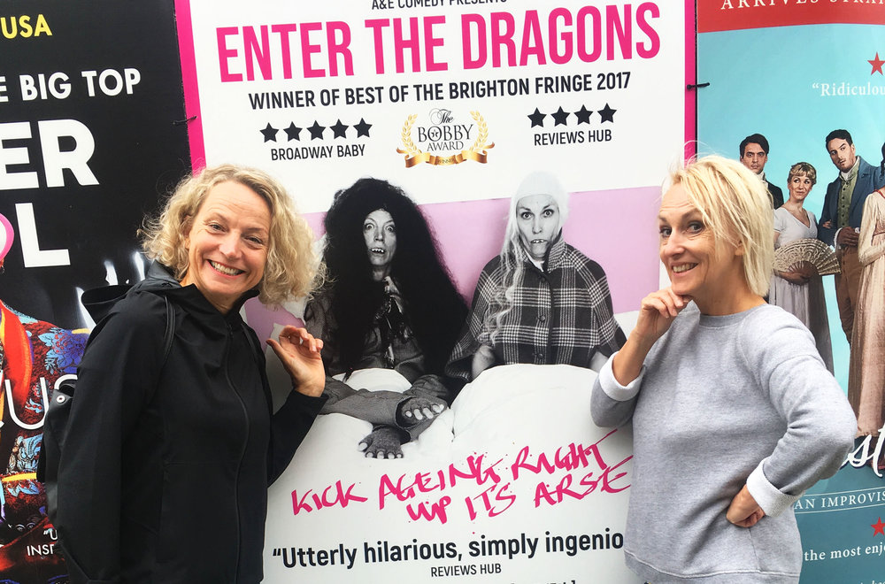 Enter The Dragons, Beth Vyse, Naomi Paxton on character comedy inThe Skinny.. -  30th July 2018
