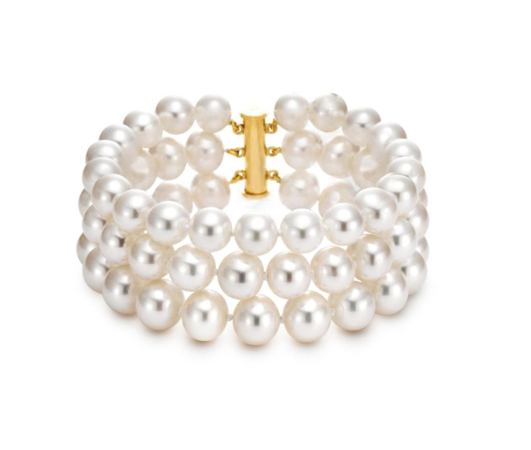 Stacked Pearl Bracelet