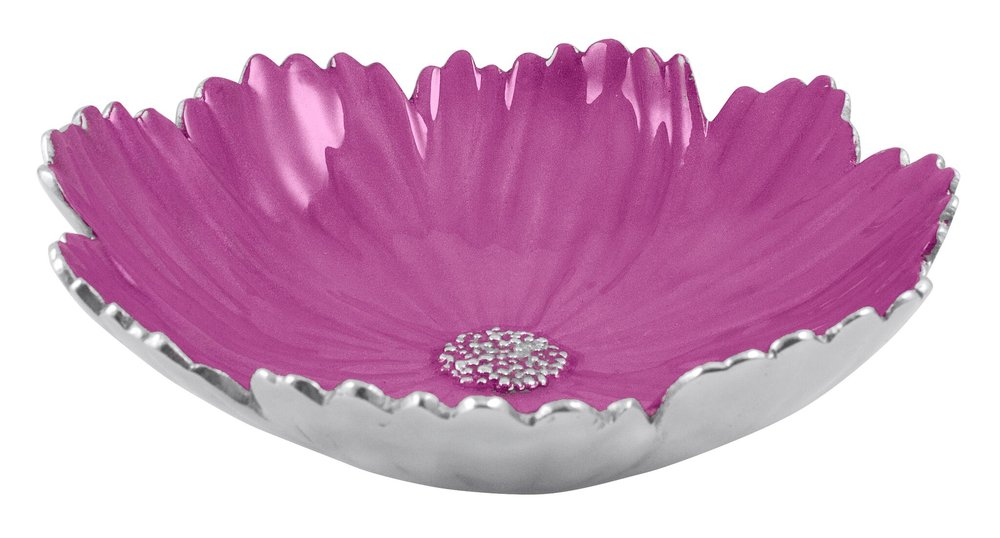 Pink Berry Cosmos Medium Bowl