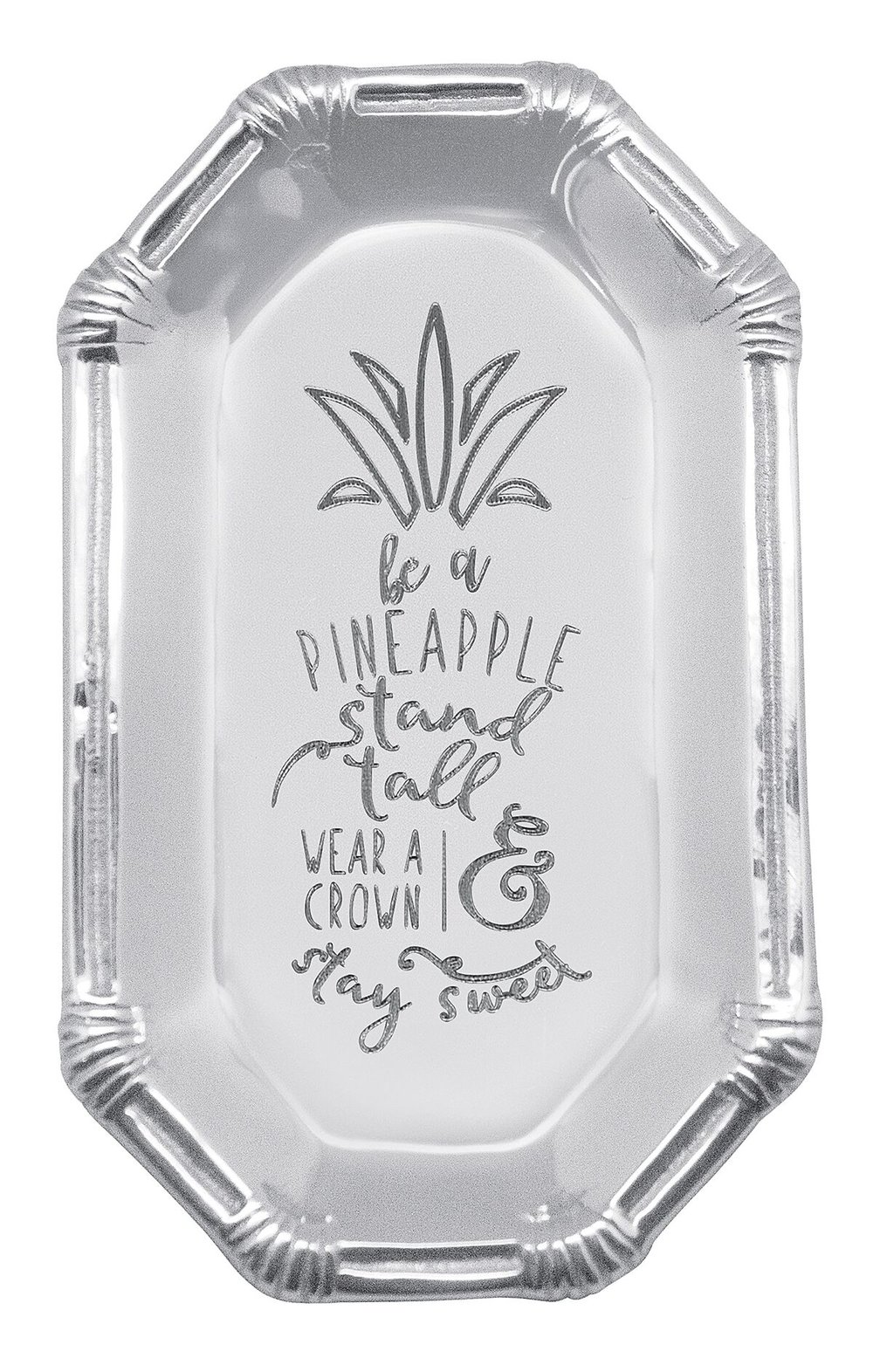 Be a Pineapple Rattan Tray