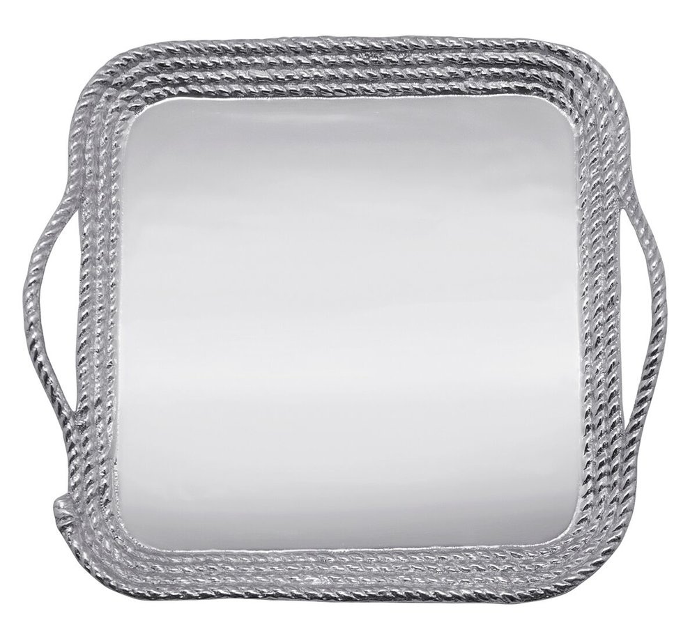 Medium Anchor Rope Relief Platter
