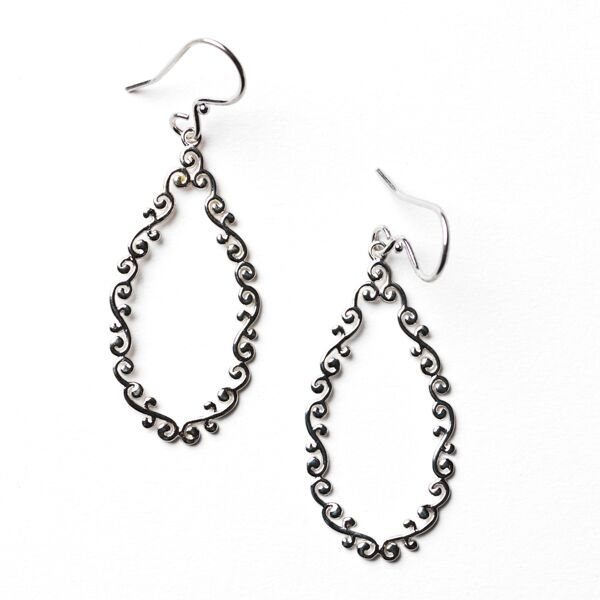 Southern Gates Open Teardrop Earrings