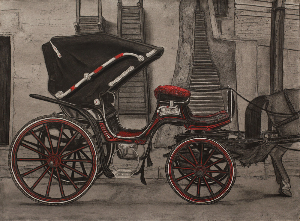 Horse Carriage, Luxor, $1,400