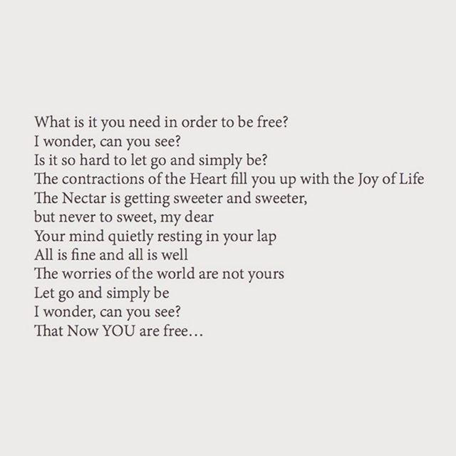 Beautiful Poetry by our meditation Guru Ji @bramvdburg  #bramspoems