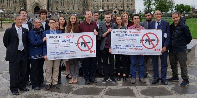 Soutien de l'AEP lors du témoignage d'Heidi Rathjen, porte-parole de PolySeSouvient, au Comité permanent de la sécurité publique et nationale, à Ottawa, le 19 juin 2018.