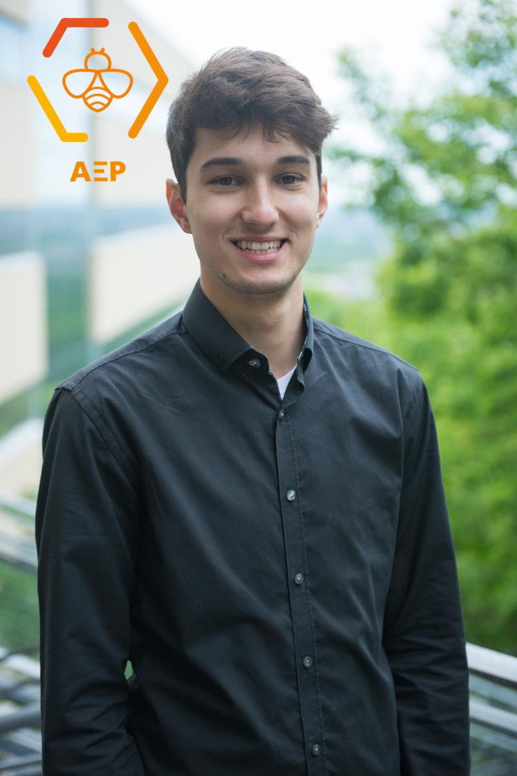 Mathieu Bélanger, coordonnateur à la vie étudiante 2018-2019