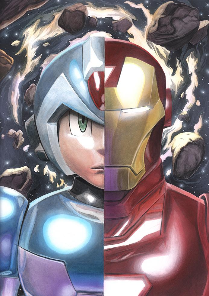 Mega Man X vs. Iron Man