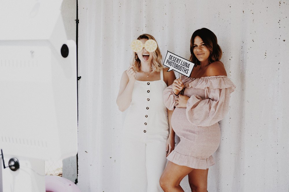 Baby Shower Photobooth Rental Riverside