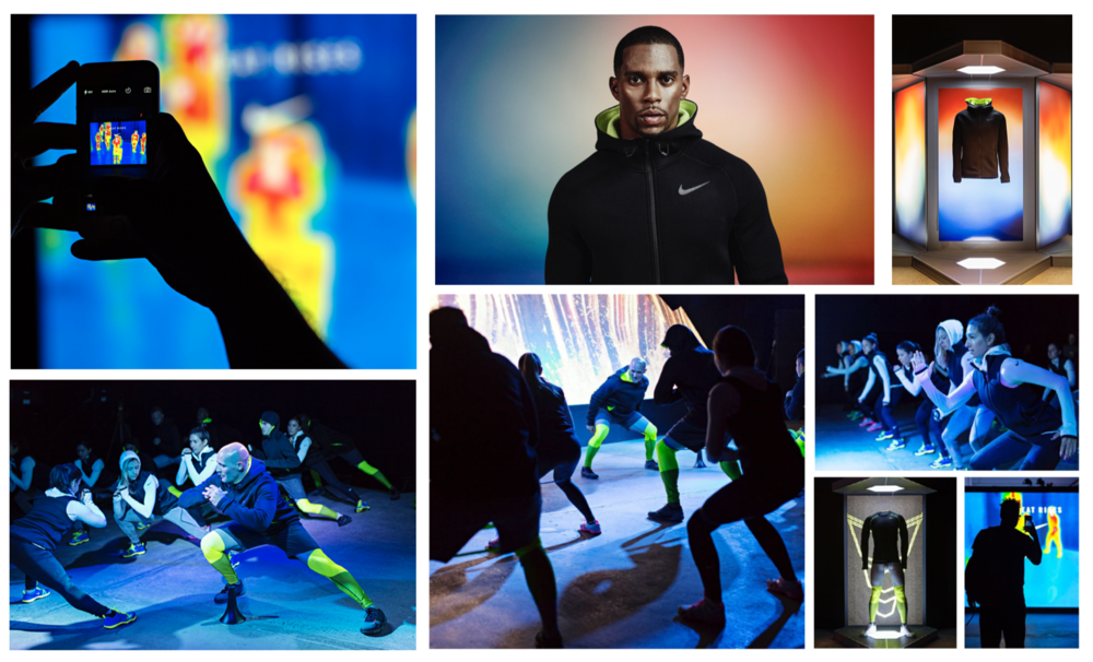"My CLIO-award winning ""Therma-Sphere"" experiential concept for Nike."