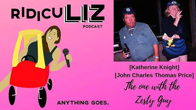 15 The one with the Zesty Guy 2. Katherine and John 3 & 4. Katherine 5. John 6. Bacon, eggggggs 7. Ariana needs glasses 8. Bacon, Bacon Pancakes! 9. A real baby elephant 10. What Liz thinks all elephants look like.  #ridiculiz #podcast #podcasting #truecrime #truecrimepodcast #murder #katherineknight #truecrimecommunity #ladypodsquad #ladypodcasters #australia #cannibal #scorpio #elephants #babar #arianagrande #bacon #eggs #adventuretime  Liz's long time BFF joins us tonight for and epic 2 parter! Liz tells us the tale of smooth talking aussie with a love of Meat, Men, & Motorcycles! Oh my! Katherine Knight is not a woman you want to mess with and gets handed one of the harshest and well deserved punishments that Austrailia has ever given a woman! Then to lighten the mood, Sheila gives us some fun facts about baby elephants!! Grab a blanket, cuddle up, and come hang out with us while we tell you some Ridiculous Stuff!! Don't send us hate mail about our Bacon Bacon Pancakes, But do send us your Ridiculous Stories!! Email us RidicuLizPodcast@Gmail.com  Visit us at RidicuLizPod.com Facebook.com/RidicuLizPod Twitter.com/RidicuLizPod Instagram.com/RidicuLizPodcast Patreon.com/RidicuLiz  Did your mom marry an axe murderer? Is your childhood home haunted? Tell us all the chisme! Email us your Hometown Crime Stories, Family Ghost Stories, or just overall Ridiculous Tales to RidicuLizPodcast@gmail.com  Artwork and graphics done by Ashley Cole. Visit her at AshleyMCole.com