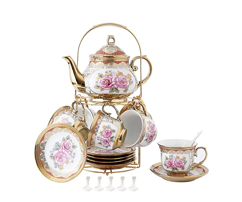 Prin and I are overdue for a high tea session and I think this set is all the Princess Realness we could ever imagine!