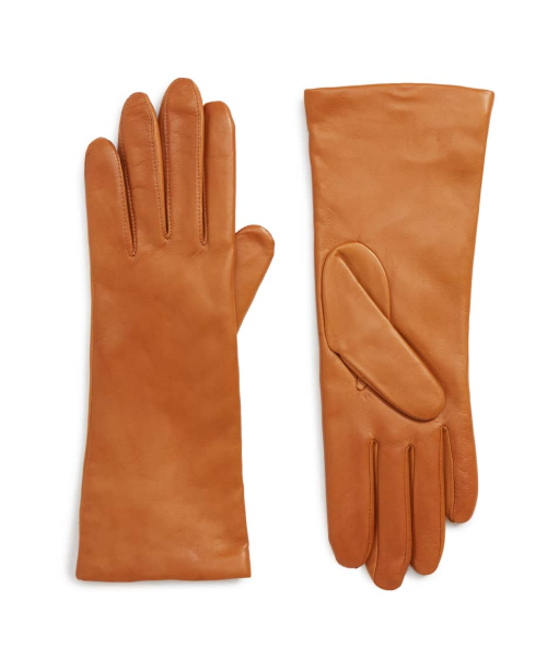 A quick touch of Hollywood with these  cashmere lined leather gloves. Shes classy, shes cute and shes VERY well put together hunny! $99