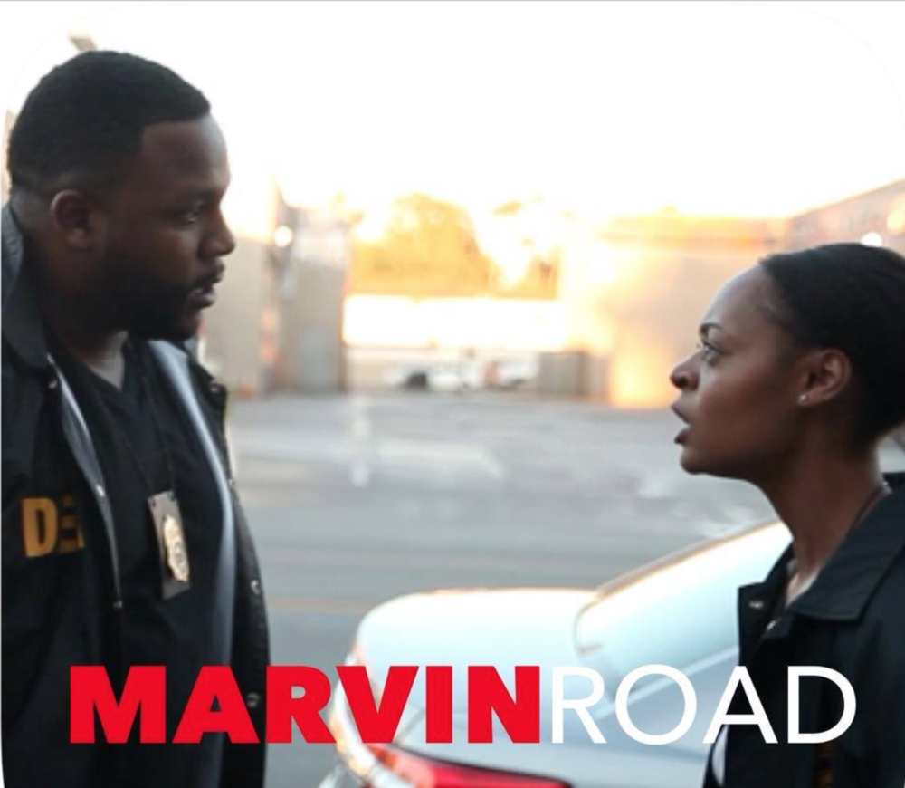 """Officer Simms in """"Marvin Road"""""""
