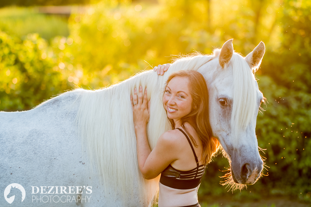 Angela - Deziree was so much fun to work with and the photos she took of me and my horses are by far my favorite of all time! I highly recommend her and can't wait to have her out to do another shoot sometime!