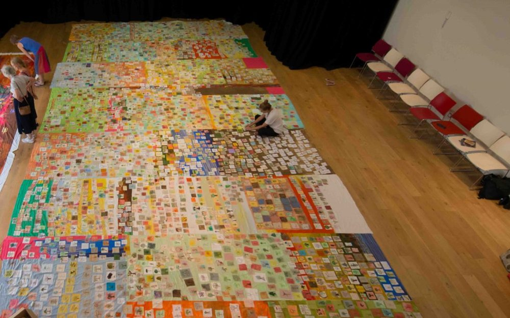 Stitch a Tree laid out fully for the first time. Over 4,000 submissions. http://threadbearingwitness.com/