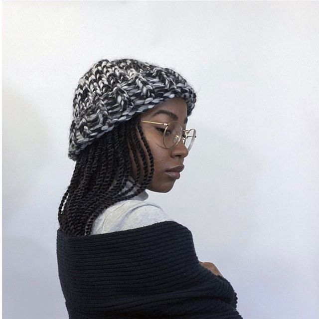 Stay warm and cozy with these beautiful knitted beanies by @contebycontessa
