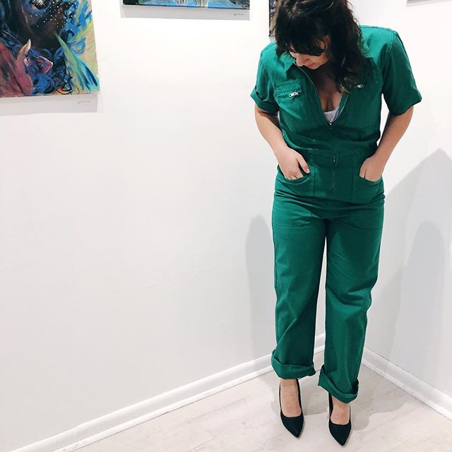 The jumpsuit that solves all your problems bc you're bad ass enough to fix them yourself!