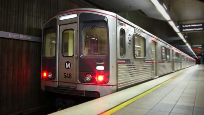 LOS ANGELES RED LINE  Subway