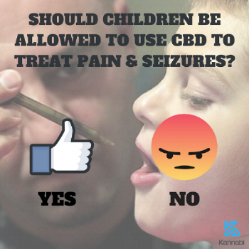 child using cbd oil for health