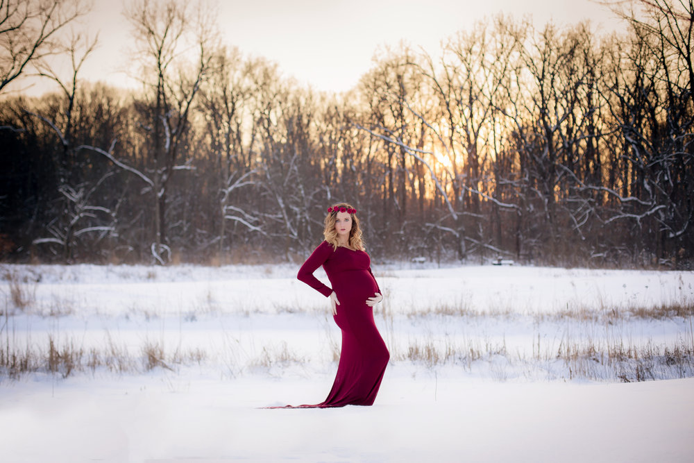 Maternity Photographer Gahanna Ohio