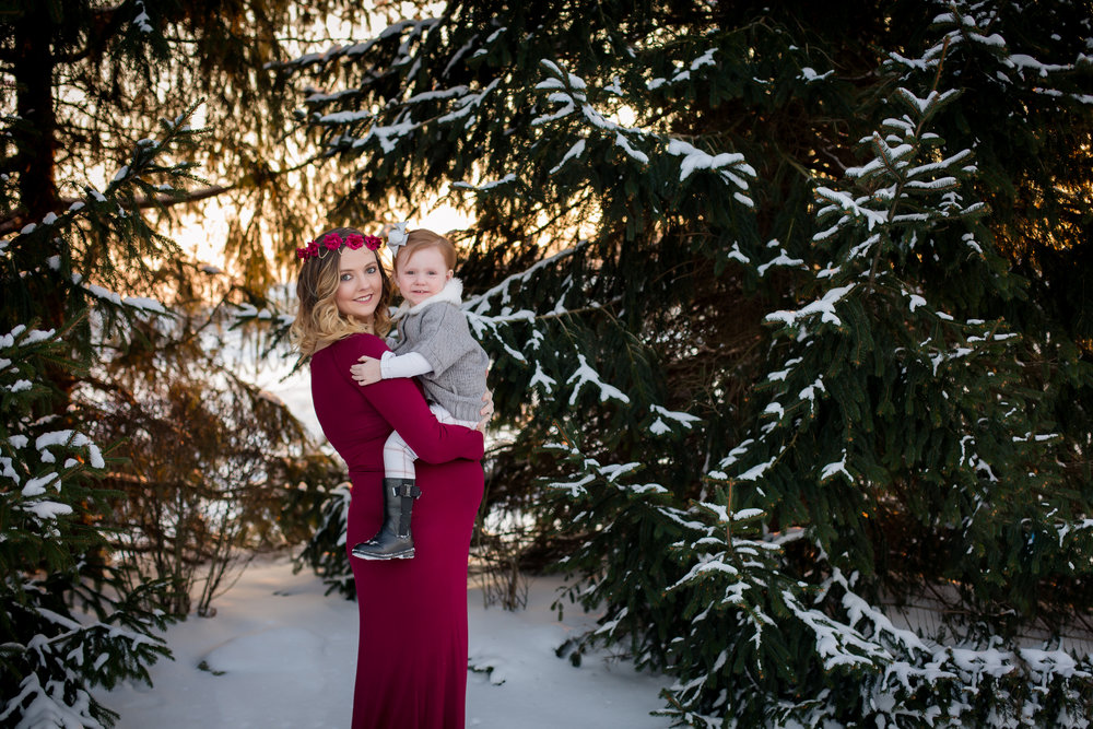 New Albany Ohio Maternity Photography