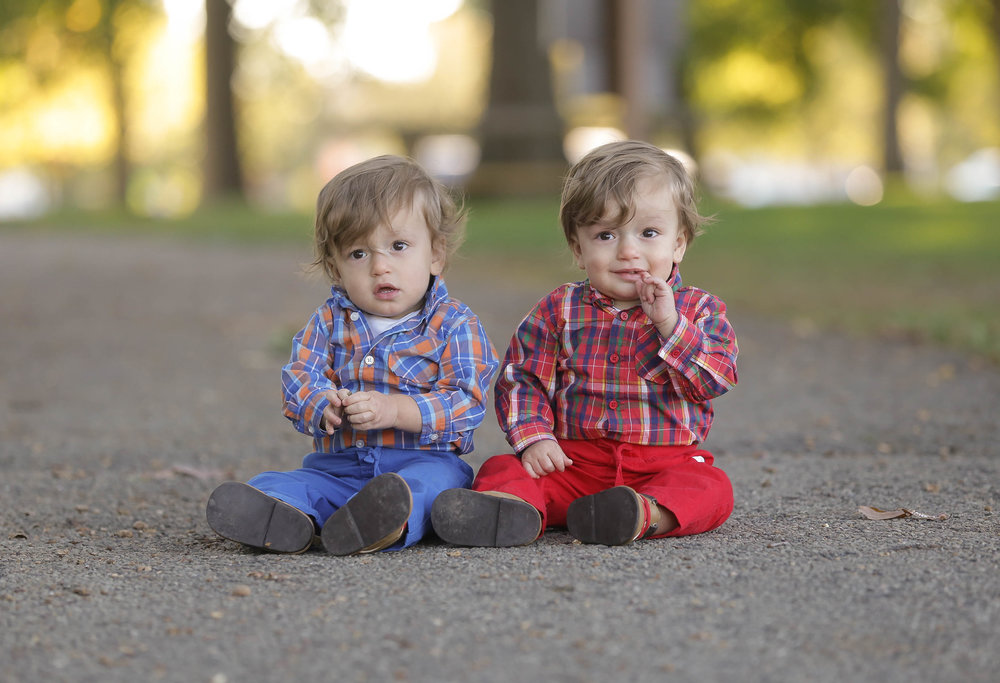 Twin Birthday session New Albany, Ohio