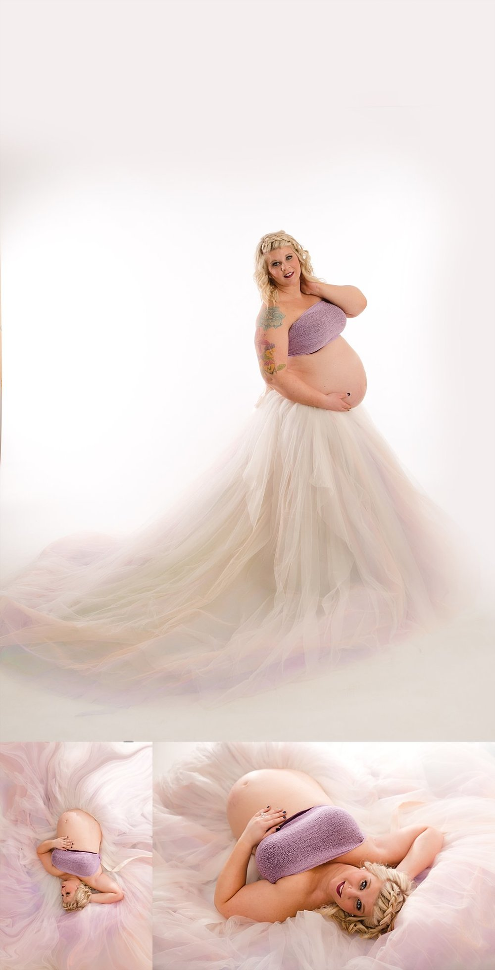 rainbow maternity session columbus ohio