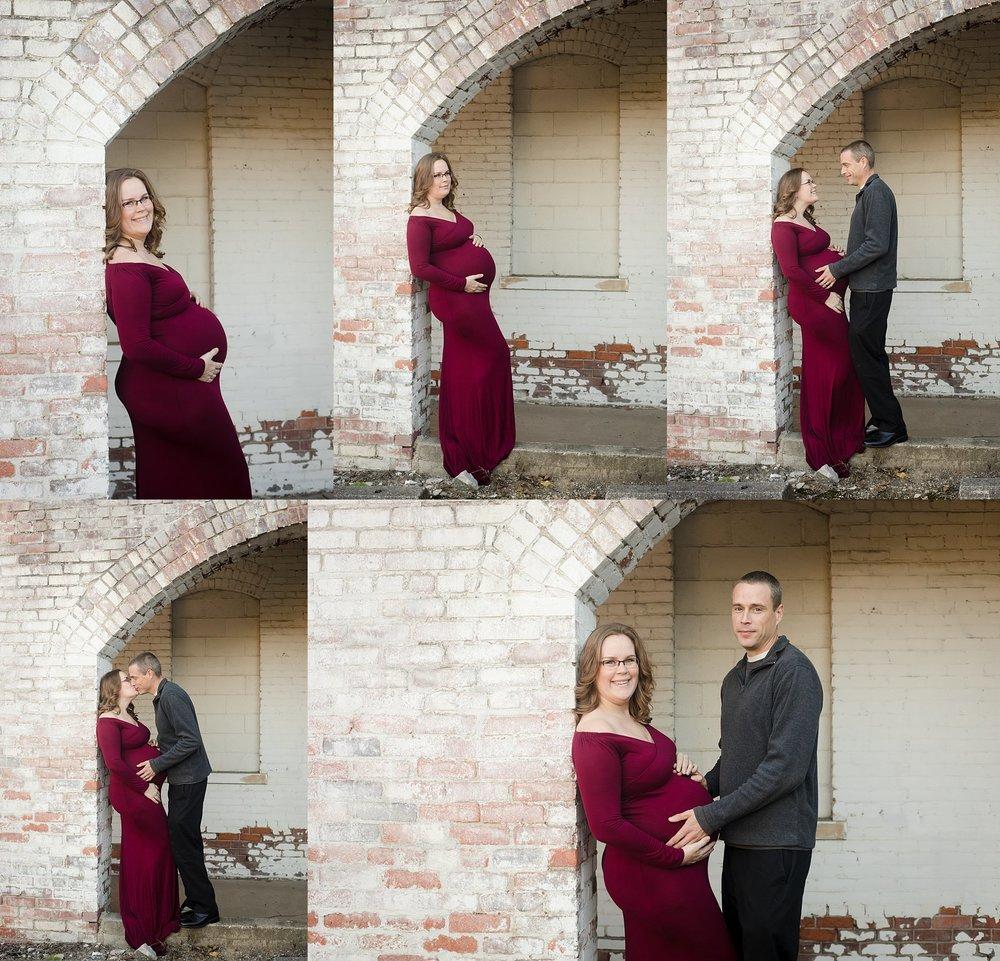 maternity session gahanna ohio