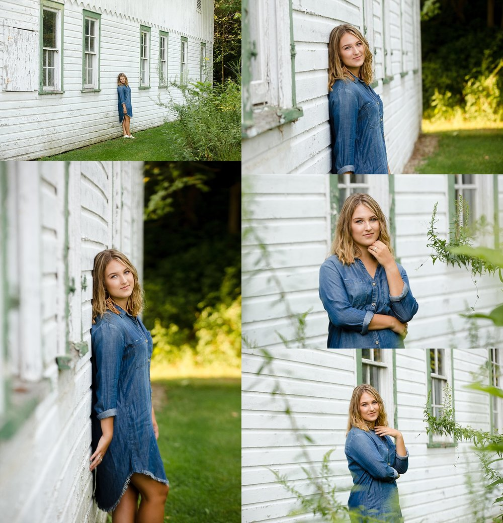 senior photos in granville, ohio