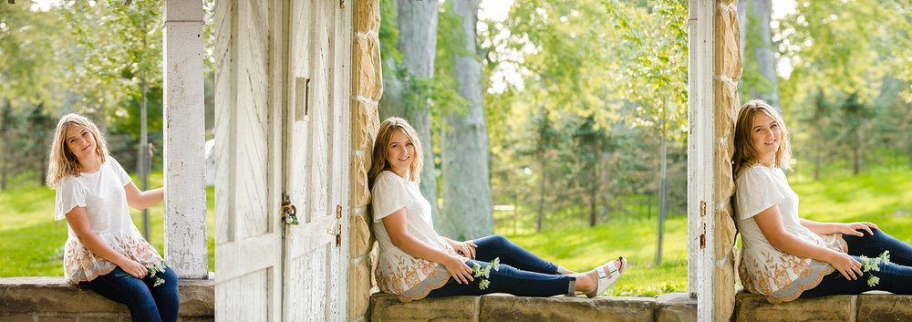 granville, ohio high school senior photos