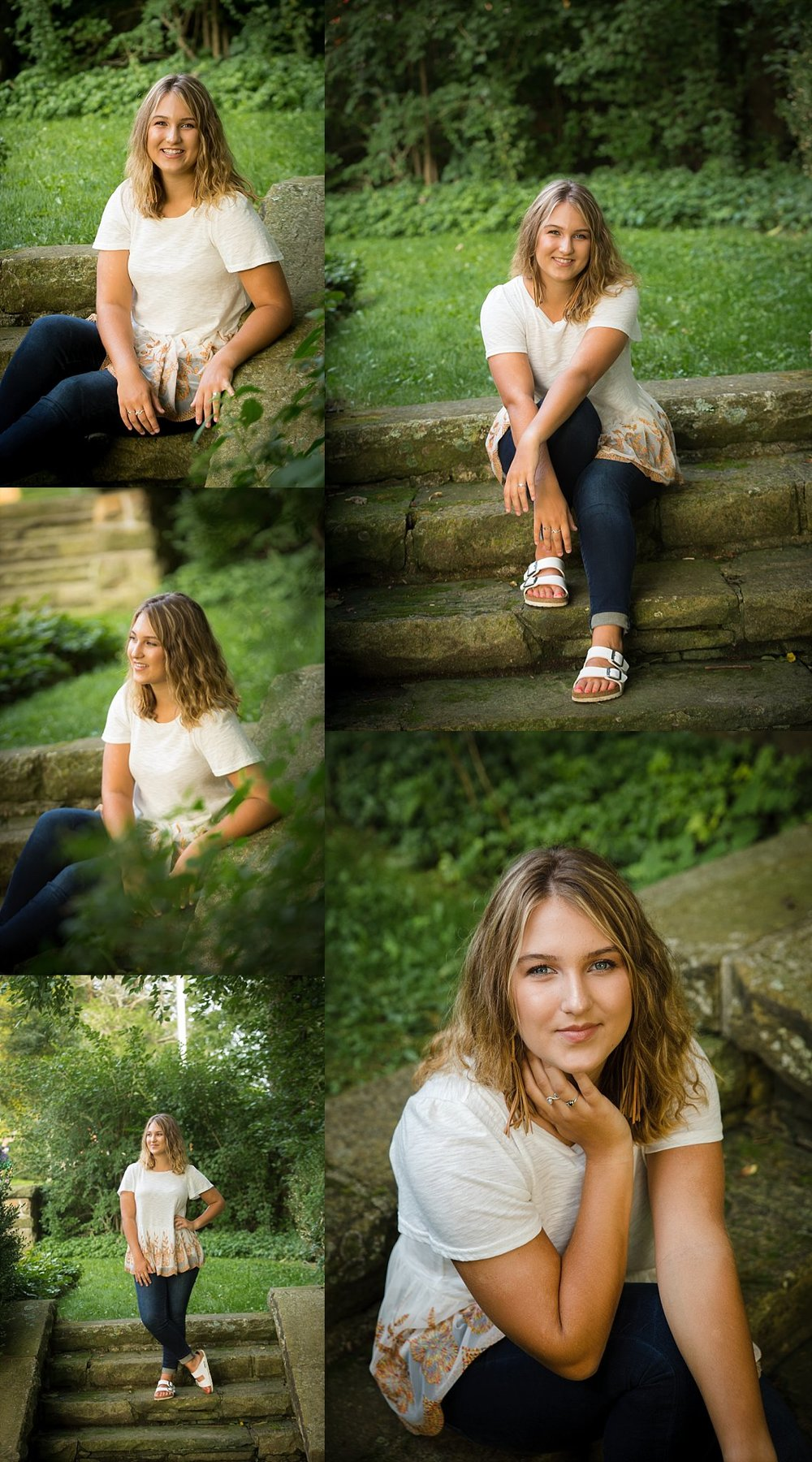 senior portraits in granville, ohio