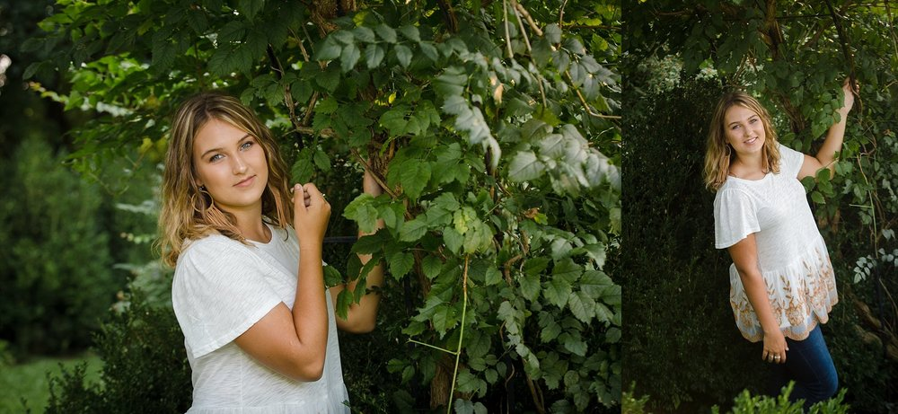granville ohio senior photos