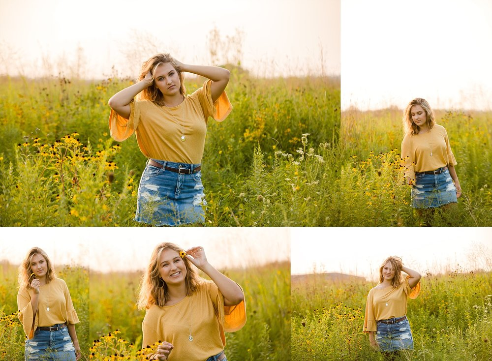 granville high school senior portraits