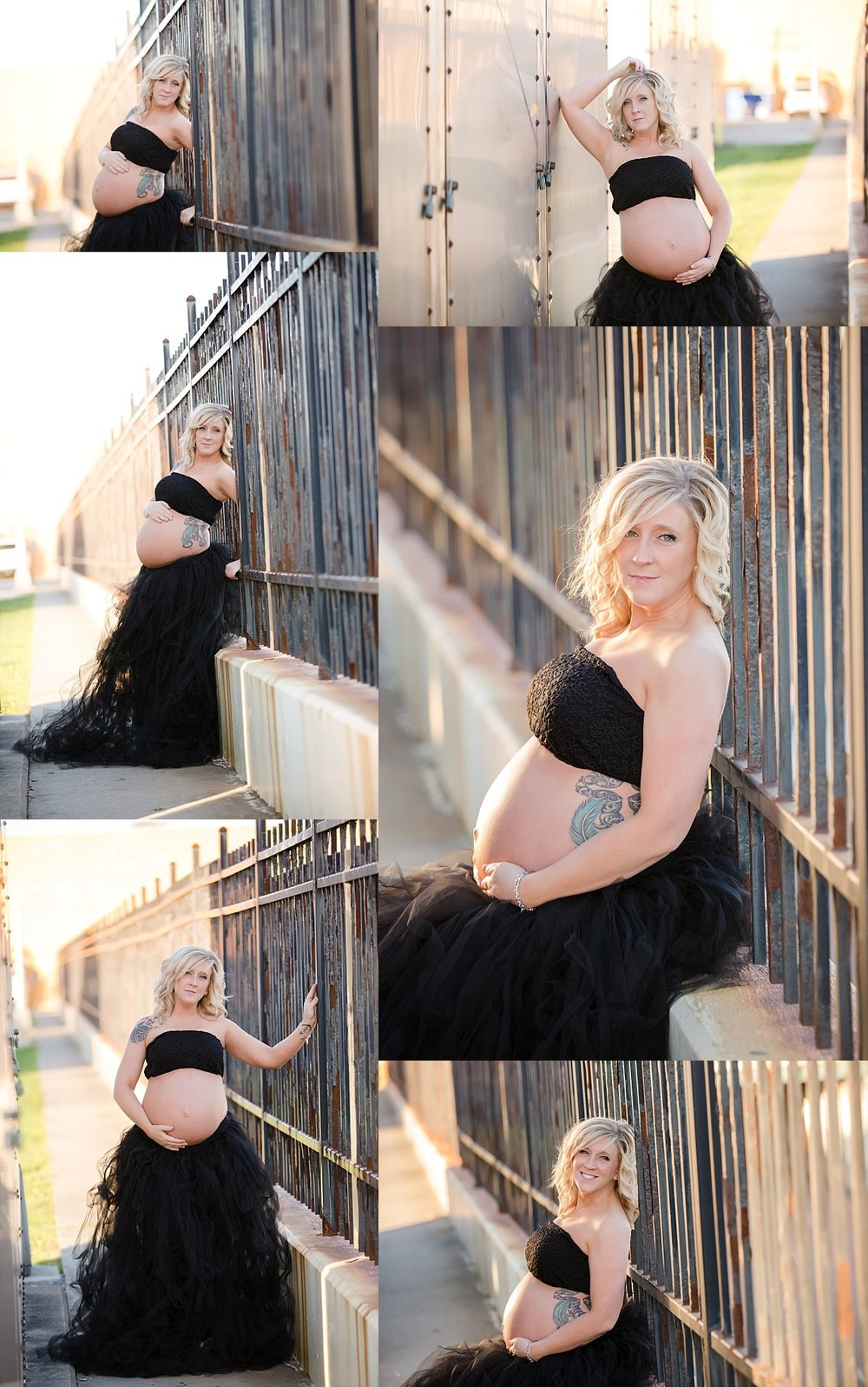Maternity session downtown columbus, ohio