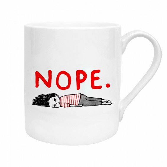 "Gemma Correll ""Nope"" Mug -  Made By Ohh Deer"