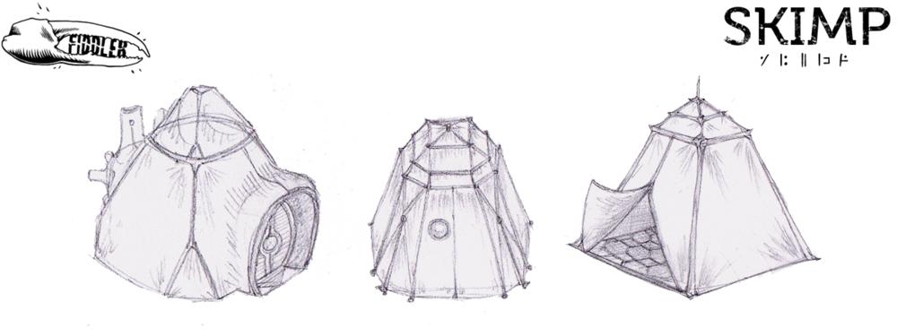 Tent Concept by Amanda Kessler