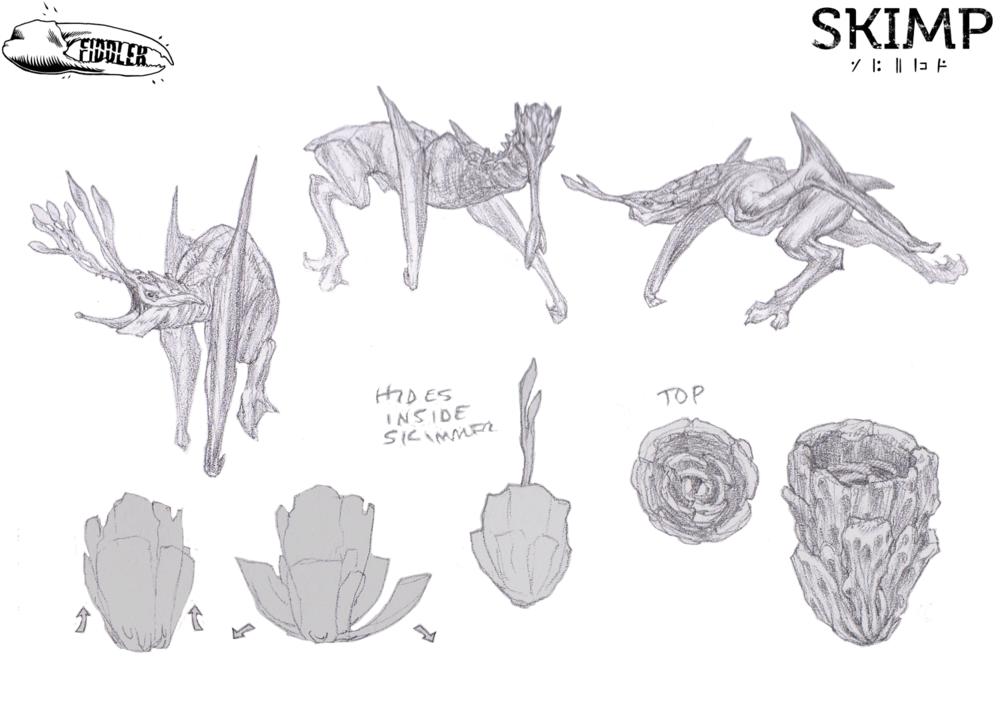 Creature Concept by Amanda Kessler