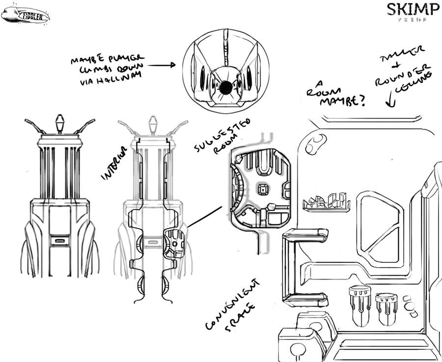 Ship Tech Concept by Amanda Kessler