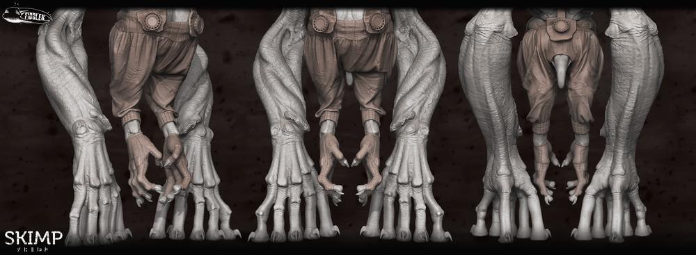 Production Sculpt by Curtis Parker