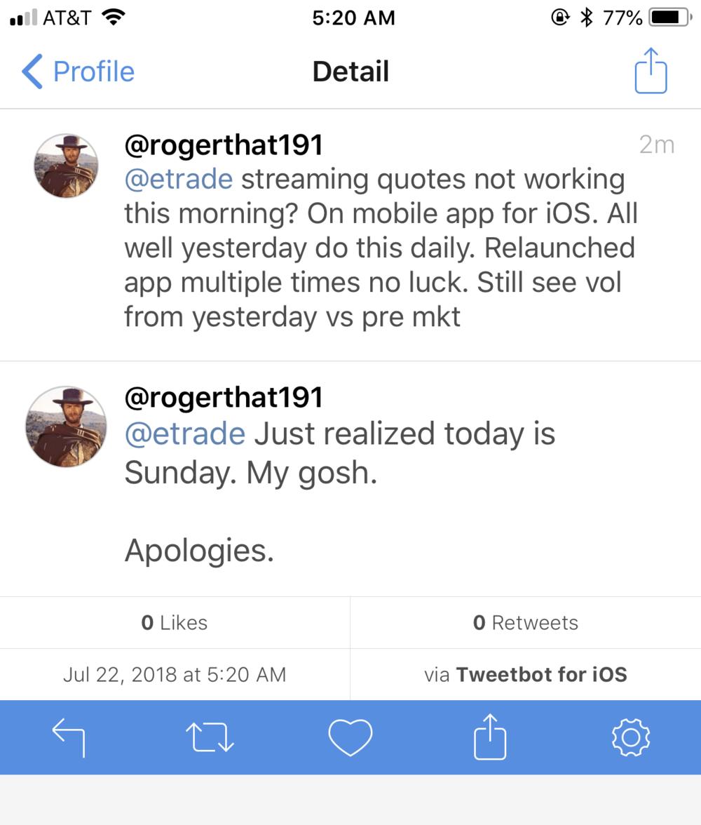 EtradeChatSupportTwitter
