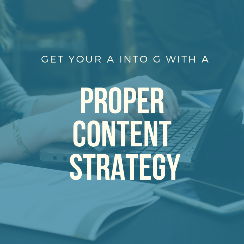 content strategy gopinleads