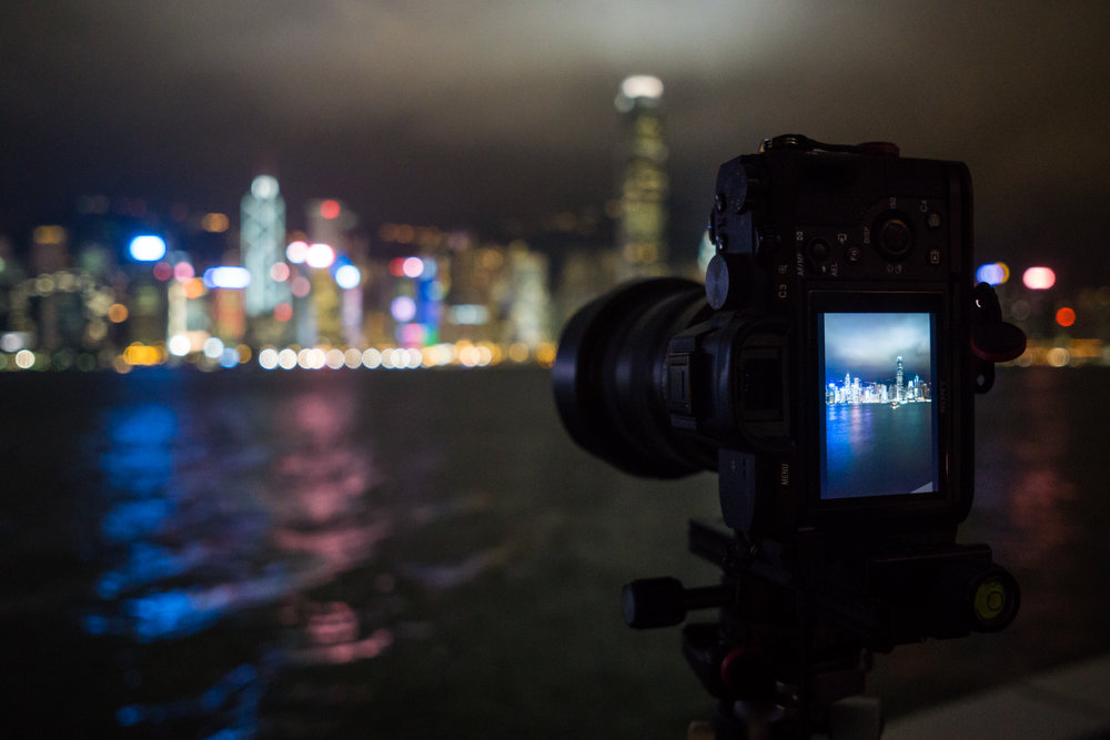 16-35mm f/2.8 GM mounted on the Sony a7 II at Victoria Harbour - Hong Kong