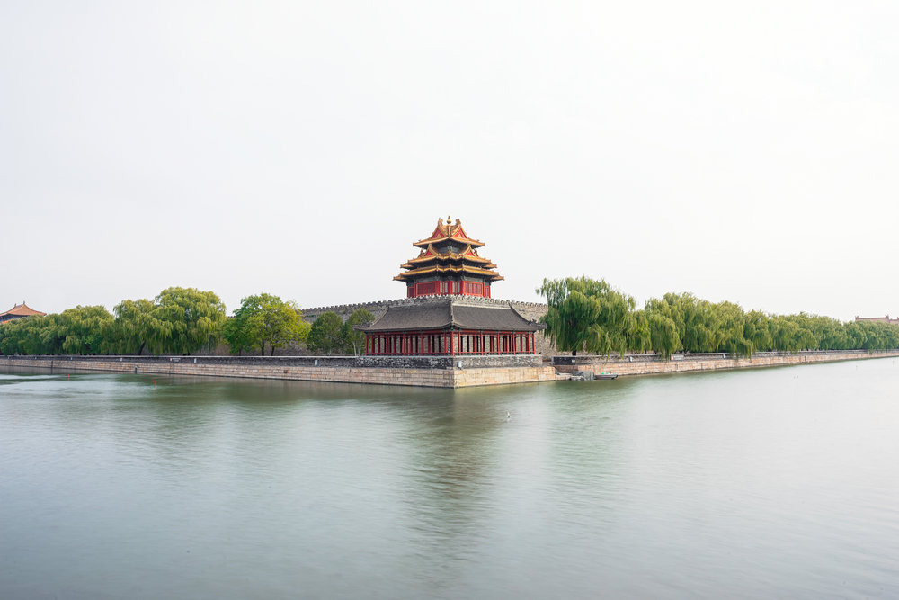 Forbidden City Turret - ISO 50 | f/11 | 1/60s | 24mm