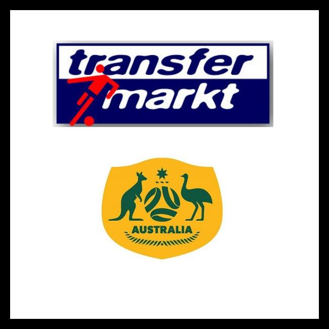 Transfermarkt Australia page