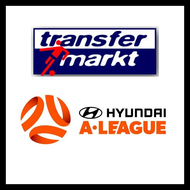 Transfermarkt A-League page