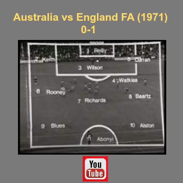 Australia vs England game 1971