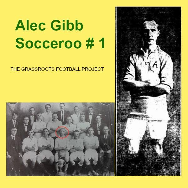 Alec Gibb first Socceroo captain