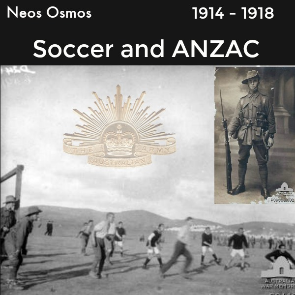 Neos Osmos Soccer and ANZAC
