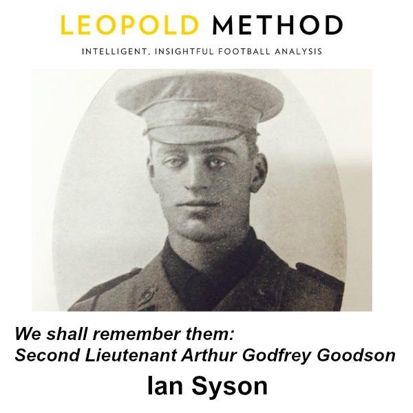 Second Lieutenant Arthur Godfrey Goodson